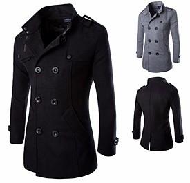 Пальто мужское Алиэкспресс