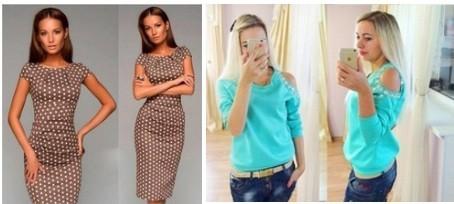 Размеры одежды Али
