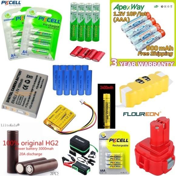 Батарейки на АлиЭкспресс