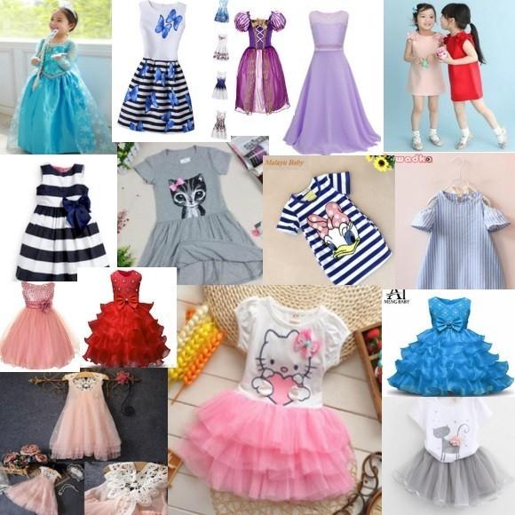 Платья для девочек на АлиЭкспресс