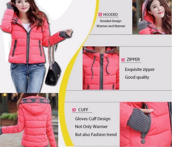 Зимние куртки на Алиэкспресс