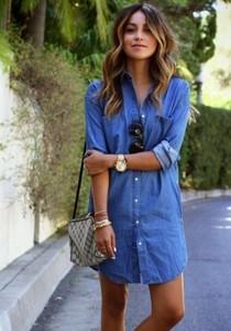 Джинсовые платья на Aliexpress
