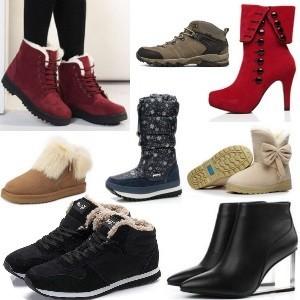 Зимняя обувь на АлиЭкспресс