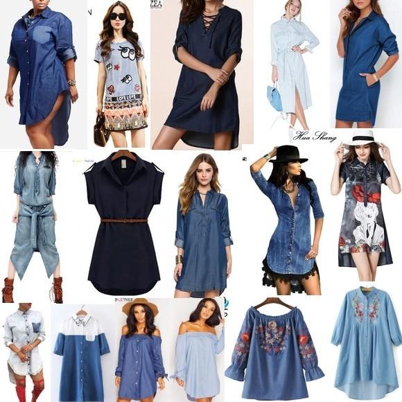 Купить джинсовые платья на Aliexpress