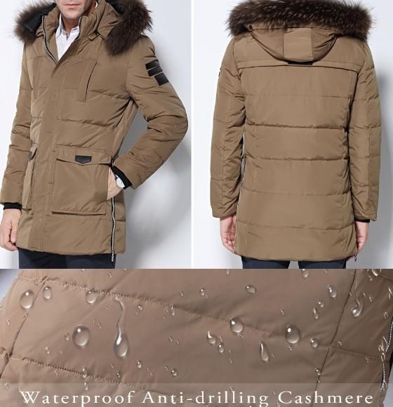 Мужская зимняя куртка на Алиэкспресс
