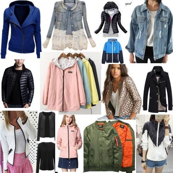 Куртки на Aliexpress
