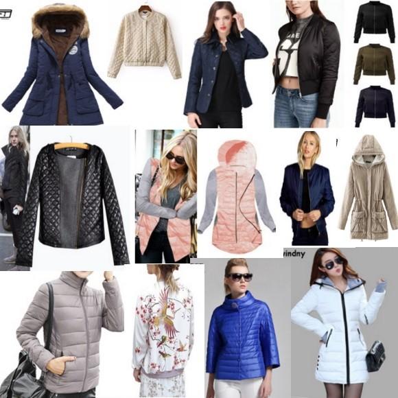 Стеганые куртки на Алиэкспресс